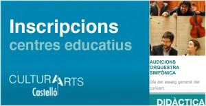 Inscripcions centres educatius