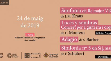 24 mayo 2019:  Kraus, Montero, Barber & Schubert