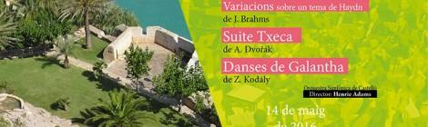 14 de mayo de 2016: música en los Jardines del Castell de Penyíscola