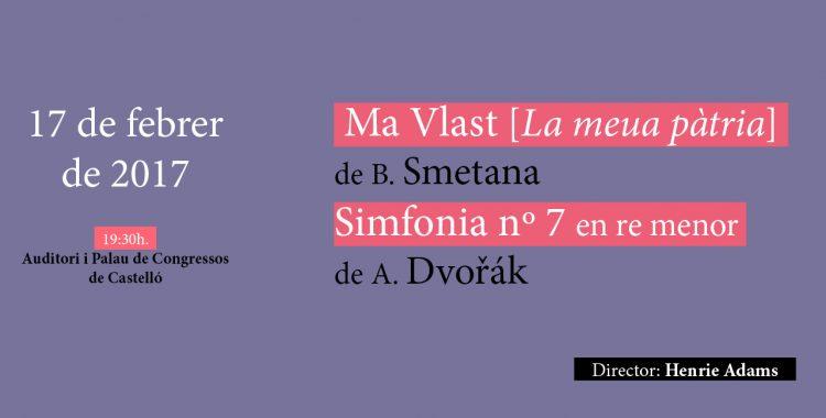 17 de febrero: Smetana y Dvořák