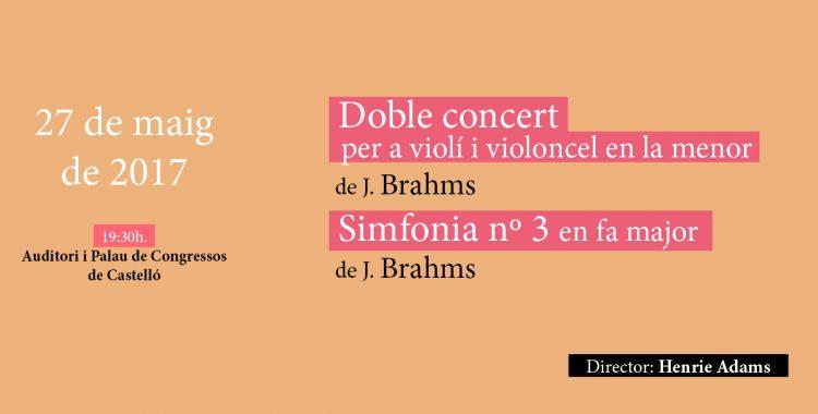27 de mayo: Brahms